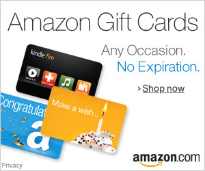 Gift Cards - Instant Delivery or Free One-Day Shipping
