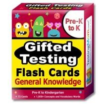 Gifted Testing General Knowledge Flash Cards Pack Now $23.99