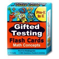 Gifted Testing Math Concepts Flash Cards Now $23.99