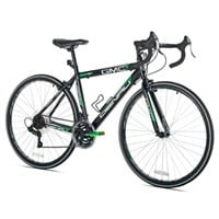 "GMC Bike Sale: GMC 19"" 700c Adult Denali Road Bike (Black/Green) $120"
