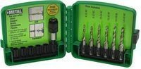 Greenlee 6-Piece Combination Drill and Tap Set