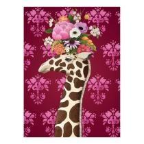 Haute House Giraffe - Close Up Wall Art Now $19