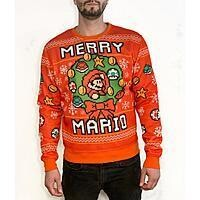 Holiday Sweaters: Super Mario Bros, Star Wars or PlayStation Holiday