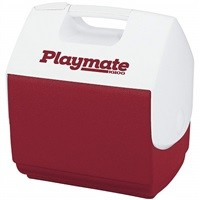 Igloo Playmate Pal 7-Qt Personal Sized Cooler (Red) $10.97