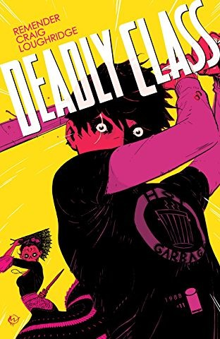 Image Comics Deadly Class Graphic Novel Digital Editions Vol 1 - 6 - $1.20-$1.60 Each on Comixology