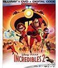 Incredibles 2 (Blu-Ray / DVD / Digital Copy)