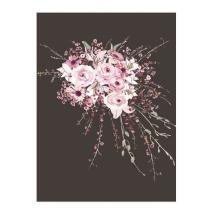 Kelsey Lambert Pretty In Pink Bouquet Wall Art Now $19 from Wheatpaste