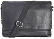 Kenneth Cole Reaction Pebbled Messenger Bag