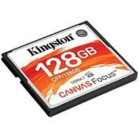 Kingston Compact Flash Cards - 128GB = $49.99   256GB = $74.99