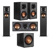 Klipsch 2-Pack R-610F Floor Standing Home 5.1-Channel Speaker Bundle $799.99