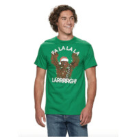 Kohls Cardholders: Select Men's Holiday Graphic Tees (Star Wars, Snoopy, More) 2 for $8.40 ($4.20 each) + Free Shipping