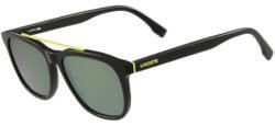 Lacoste Sunglasses: Green Square Brow Bar Sunglasses w/ Mirrored Lens or Green Multi-Color Square Flat Top Sunglasses $38 + free shipping