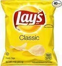 Lay's Classic 1-Oz. Potato Chips (Pack of 40)