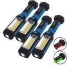 LED Flashlight/Worklight w/ Magnetic Base (4 Pack)