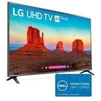 """LG 86UK6570PUB 86"""" 4K UHD HDR Smart LED HDTV w/ AI ThinQ + $250 Dell GC $2497"""