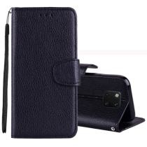 Litchi Texture Horizontal Flip Leather Case for Huawei Mate 20 Pro Now $2.27