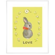 Love Bunny Wall Art Now $19