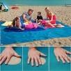 Magic Sandless Mat - No Sand Beach Mat w/ Carrying Bag