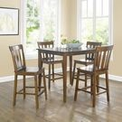 Mainstays 5-Pc. Mission Counter-Height Dining Set
