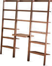 Mainstays Sumpter Park Ladder Bookcase Desk