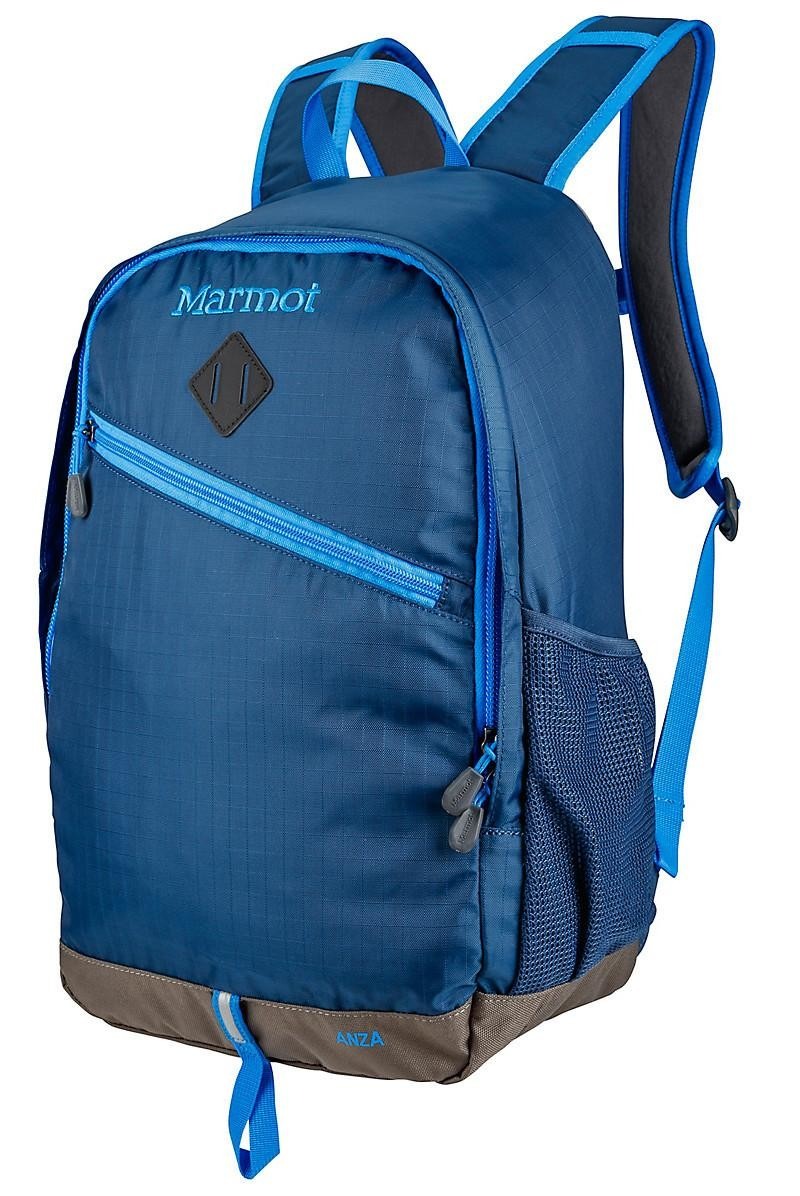 Marmot 50% Off Past Season Items: Anza Blue Backpack $29.50 & More + Free S/H