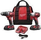 Milwaukee M18 Cordless 2-Tool Combo Kit