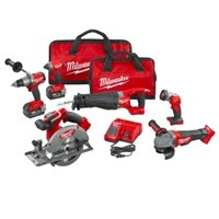 Milwaukee M18 FUEL 18V Brushless Cordless Combo Kit (6-Tool) + More $599