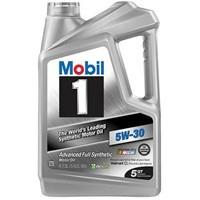 Mobil 1 5-Qt 5W-30 Full Synthetic Motor Oil $19.97