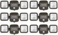 Mr Beams 140-Degree Wireless Outdoor Flood Light (6-Pack)