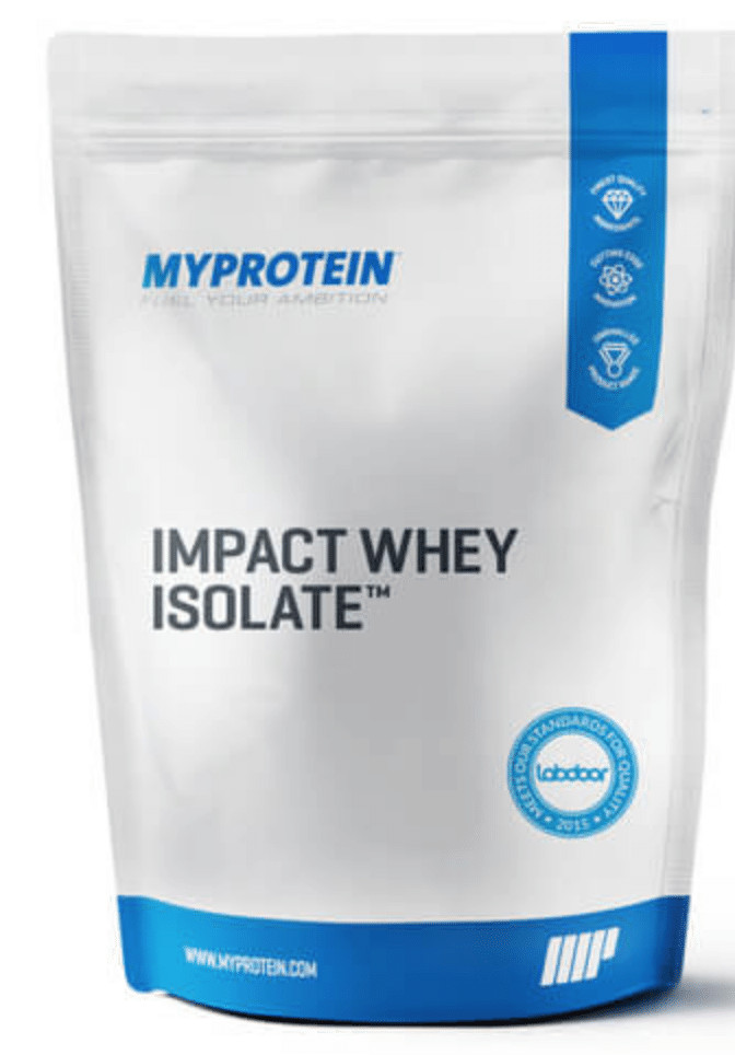 MYPROTEIN Whey Isolate Powder (5.5 lbs) for $36 Shipped