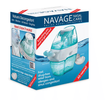 Navage Nasal Care Saline Nasal Irrigation Kit $54 + free shipping
