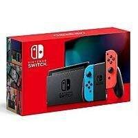 Nintendo Switch (Neon Blue & Neon Red Joy‑Con) + $30 Target eGift Card