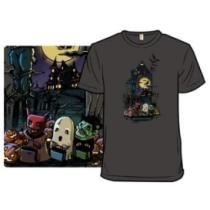 October Tales by Drakxxx & CrescentDebris T-Shirt Now $15