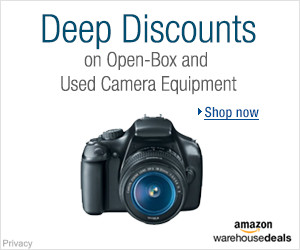 Open-box and Used Camera Equipment | Valentine's Day Deals