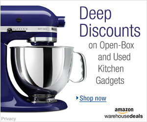 Open-box and Used Kitchen Gadgets | New Year's Resolutions Deals
