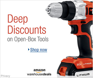Open-box and Used Tools & Home Improvement | New Year's Resolutions Deals