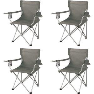 Ozark Trail Classic Folding Camp Chairs, Set of 4