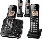 Panasonic 4-Handset Single-Line Phone w/ Answering Machine