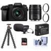 Panasonic DMC-G7 Mirrorless Camera w/ 14-42mm & 45-150mm Lenses and More