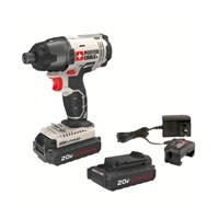Porter Cable 20V Max Cordless Compact Impact Driver $62.99