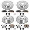 Power Stop Z26 Street Warrior 1-Click Brake Kit