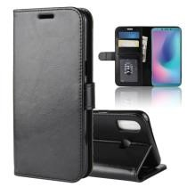 R64 Texture Single Fold Horizontal Flip Leather Case for Galaxy A6S Now $2.51