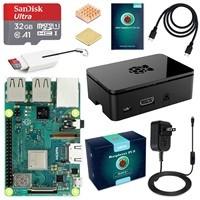 Raspberry Pi 3 Complete Starter Kit (32GB Edition) $57.99 [B+ $63.99]
