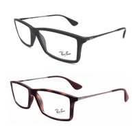 Ray-Ban Matthew RX7021 Full-Frame Eyeglasses (Black, Havana) $44.99