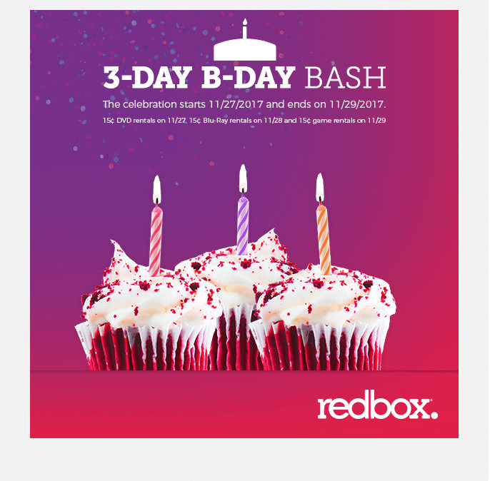 Redbox $.15 Game Rental on Wednesday, 11/29/17