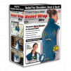 Relief Wrap ULTRA, Heat and Massage Therapy Wrap, Blue
