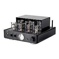 Retro vacuum tube-type hi-fi stereo amplifier w Blutooth, Line, Phono inputs $129 or $279, all tube not hybrid,  free sh, monoprice $130