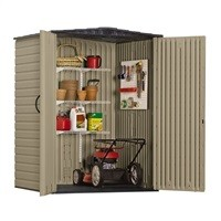 Rubbermaid Roughneck 5 ft x 4 ft Storage Shed $329 [5 ft x 6 ft $429]