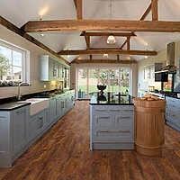Rustic Spiced/ Scraped Oak Laminate Flooring | $1.65 per sqft | Costco Bargain