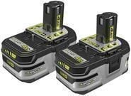 RYOBI 18-Volt ONE+ Lithium-Ion + HP 4.0 Battery (2-Pack)